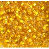 Seedbead 2/0 Silver Lined Transparent Yellow